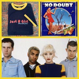 Tops - Vintage No Doubt Just a Girl T Shirt- Gwen Stefani